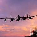 Lancaster Sunset by J Biggadike