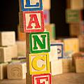 Lance - Alphabet Blocks by Edward Fielding
