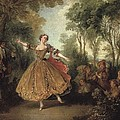 Lancret, Nicolas 1690-1743. Mlle by Everett
