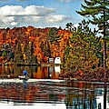 Land Of Lakes by Steve Harrington