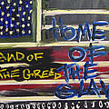 Land Of The Greed Home Of The Slave by Kamoni Khem