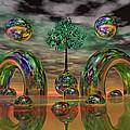 Land Of World 8624036 by Betsy Knapp