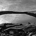 Landscape Arch Panoramic by David Lee Thompson