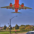 Landing At Midway by Jim Wright