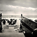 Landing At Normandy On D-day by Mountain Dreams