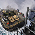 Landing Craft Air Cushion Approaches by Stocktrek Images