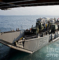 Landing Craft Utility Departs The Well by Stocktrek Images