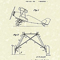 Landing Gear 1932 Patent Art by Prior Art Design