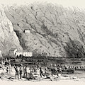Landing Of A Portion Of The National Army At The Marina Di by Italian School