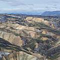 Landmannalaugar Iceland Panorama 2 by Rudi Prott