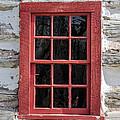 Landow Cabin Window by Guy Whiteley