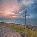 Lands End Cornwall by Chris Thaxter