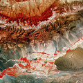 Landsat Pic Of Turfan Depression In Weste by Mda Information Systems/science Photo Library