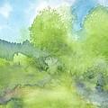 Landscape 1 by Ingela Christina Rahm