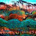 Landscape 121001-4 by Aquira Kusume