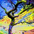 Landscape Art Tree Life by Mary Clanahan