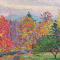 Landscape At Hancock In New Hampshire by Lilla Cabot Perry