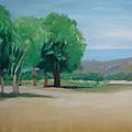 Landscape At Montelimar by Marino Chanlatte