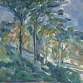 Landscape, C.1900 by Paul Cezanne