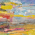 Landscape Collage #1 by Janet Gunderson