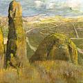 Landscape by Edgar Degas