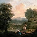 Landscape by Francesco Zuccarelli