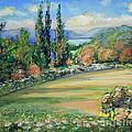 Landscape From Kavran by Raija Merila
