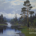 Landscape From Norway by Gonrad Selmyhr
