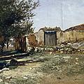 Landscape In Aragon by Carlos de Haes