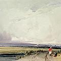 Landscape In Normandy, Traditionally by Richard Parkes Bonington