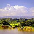 Landscape In Puerto Rico. by Michael Simeone