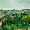 Landscape In The Ile-de-france by Paul Cezanne