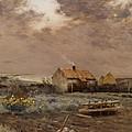 Landscape by Jean Charles Cazin