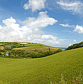 Landscape Near Hallsands In Devon Gb by Chevy Fleet