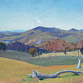 Landscape Near Yass by Elioth Gruner