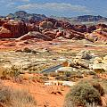 Landscape Of Valley Of Fire State Park by Tracy Winter