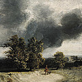 Landscape On The Outskirts Of Paris by Georges Michel