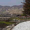 Landscape Outside The Entrance To The Eilean Doonan Castle In Sc by Ashish Agarwal