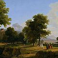 Landscape. Site Of Greece by Jean-Victor Bertin