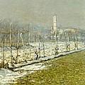 Landscape. Winter Sun by Emilio Longoni