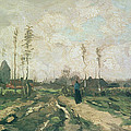 Landscape With A Church And Houses by Vincent van Gogh