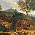 Landscape With Conopion Carrying by Jean Francois I Millet
