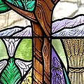 Landscape With Flora by Gilroy Stained Glass