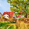 Landscape With Houses by Gynt