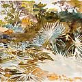 Landscape With Palmettos by John Singer Sargent