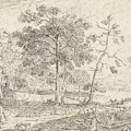 Landscape With Riders, Jan Palthe by Quint Lox