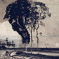 Landscape With Three Trees by Victor Hugo