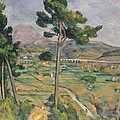 Landscape With Viaduct by Paul Cezanne