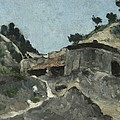 Landscape With Water Mill, C.1871 by Paul Cezanne