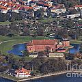 Landskrona Citadel Photographed From The Air by Sophie McAulay